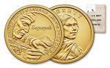 2017-D Sacagawea Dollar BU 100-Coin Bag