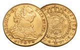 1772-1821 Spain Gold 4 Escudo VF