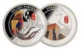 2017 China 50 Gram Gold & Silver Golden Pheasant NGC PF70UCAM 2-Pc Set