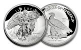 2017 GAUDEN'S 1-OZ SILVER WINGED LIBERTY UHR PF