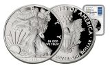2017-W 1 Dollar 1-oz Silver Eagle Proof NGC PF70UCAM Moy Signed