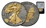 2016-W 1 Dollar 1-oz Silver Eagle Black Ruthenium w/Box