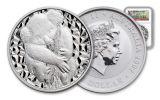 2007 Australia $1 1-oz Silver Koala NGC Gem Uncirculated