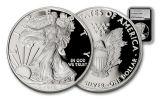 2017-W 1 Dollar 1-oz Silver Eagle Proof NGC PF70UCAM Silver Foil Label - Black