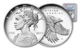 2017-P 1oz Silver American Liberty Medal PCGS PR69 DC FS FLAG