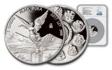 2017 Mexico 2-oz Silver Libertad NGC PF69UCAM First Releases