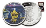 2017 Canada 15 Dollar Silver Around the Campfire Proof