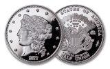 1877 Smithsonian 50 Dollar 1-oz Silver Half Union Proof