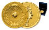 2017 Samoa 50 Dollar 100 gram Gold US Capitol Reverse Proof