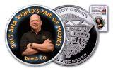 2017 1-oz Silver ANA Rick Harrison Signed NGC Gem Proof Medal