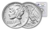 2017-P 25 Dollar 1-oz Palladium American Eagle High-Relief PCGS MS70 First Strike 225th Anniversary