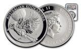 2018 Australia 1 Dollar 1-oz Silver Kookaburra NGC MS70 First Releases