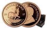 2017 South Africa 5-oz Gold Krugerrand NGC PF70UCAM