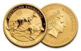 2018 Australia 100 Dollar 1-oz Gold Kangaroo Brilliant Uncirculated