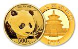 2018 China 30 Gram Gold Panda Brilliant Uncirculated