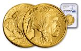 2018 50 Dollar 1-oz Gold Buffalo NGC MS69 First Releases