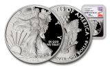 2018-W 1 Dollar 1-oz Silver Eagle NGC PF70UCAM First Releases Mercanti Signed - Silver Foil
