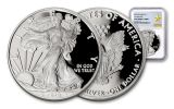 2018-W 1 Dollar 1-oz Silver Eagle NGC PF69UCAM First Releases Gold Star Label