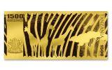 2018 Tanzania Big Five Gold Prooflike - Elephant
