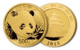 2018 China Gold Panda Prestige Set NGC MS70 First Day Of Issue Chao Signed - Black