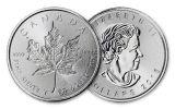 2018 Canada 1-oz Silver Incuse Maple Leaf BU