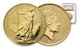 2018 Great Britain 100 Pound 1-oz Gold Britannia Oriental Border NGC MS69 First Releases