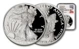 "2018-W 1 Dollar 1 Ounce Silver Eagle ""Congratulations"" NGC PF70UC First Day Of Issue - Mercanti Signed Label"