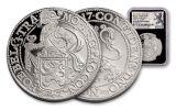 2017 Netherlands 1-oz Silver New York Lion Dollar Restrike NGC PF70UCAM First Releases - Black