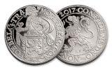 2017 Netherlands 1-oz Silver New York Lion Dollar Restrike BU Roll Of 100