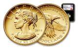 2018-W 10 Dollar 1/10-oz Gold Liberty High Relief NGC PF70UCAM FDI Mercanti Signed