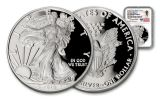 2018-W 1 Dollar 1-oz Silver Eagle NGC PF70UCAM First Day Of Issue Travis Mills Signed