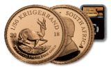 2018 South Africa 1/50 Ounce Gold Krugerrand NGC PF70 FR - Black Core