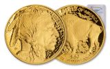 2018-W 50 Dollar 1-oz Gold Buffalo PCGS PR70DCAM First Strike