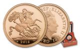 2018 Great Britain Gold Sovereign Piedfort Proof