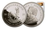2018 South Africa 1-oz Silver Krugerrand NGC PF69UC - Springbok Label