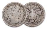 1915–1918 World War I 5-Piece VG Coin Set