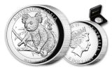 2018 Australia $8 5-oz Silver Koala High-Relief Proof