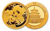2019 China 1-Gram Gold Panda BU
