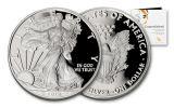 2019-W $1 1-oz Silver American Eagle Congratulations Proof