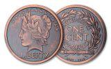 1907-2019 1-oz Silver Last Coin of Saint-Gaudens National Parks Medal Proof + Bonus 1/10-oz CuNi Antiqued Medal