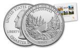 2019 America the Beautiful Quarters Uncirculated 10-Coin Set BU