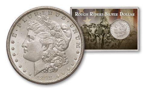 1898-O Morgan Rough Riders Silver Dollar BU