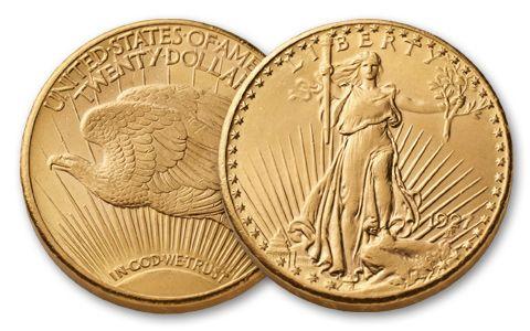1907-1933 20 Dollar Saint-Gaudens BU