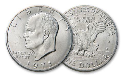 1971-S Eisenhower Dollar BU
