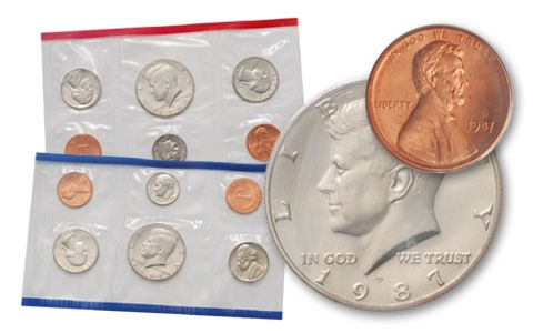 1987 United States Mint Set