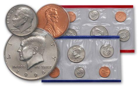 1998 United States Mint Set