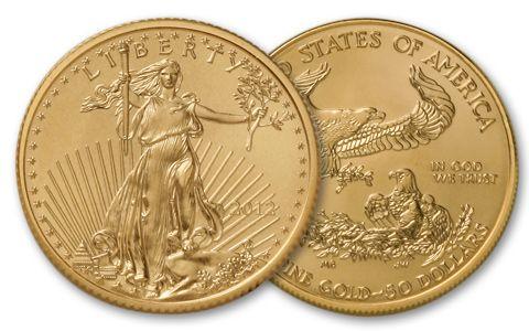 2012 50 Dollar 1-oz Gold Eagle BU