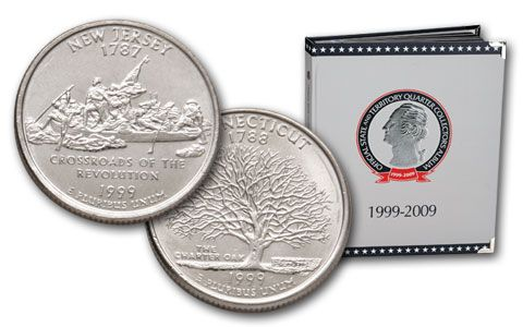 Official State and Territory Quarter Collector's Album