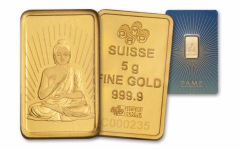 Pamp Suisse 5 Gram Gold Buddha Bar