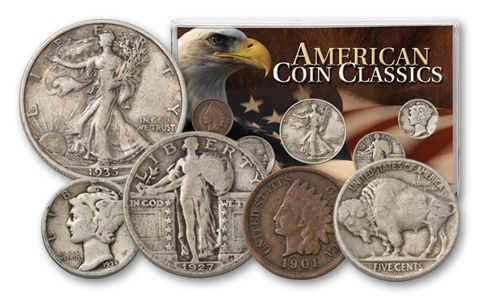 American Classics Coin Collection 5 Pieces - Fine